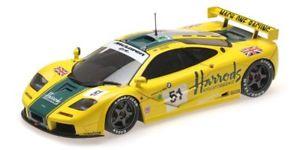 【送料無料】模型車 スポーツカー マクラーレンハロッズマッハレーシングウォレスベルルマンモデルmclaren f1 gtr harrods mach one racing wallace bell 24h le mans 1995 118 model