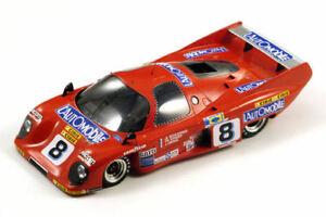 【送料無料】模型車 スポーツカー ロンドーm379c8 2ndレ1981ハランschlesser streiffスパーク118 s18033rondeau m379c 8 2nd le mans 1981 haran schlesser streiff red spark 11