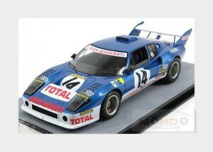 【送料無料】模型車 スポーツカー #ルマンligier js2 14 24h le mans 1974 g chasseuil m leclere tecnomodel 118 tm1899b m