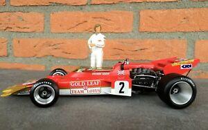 【送料無料】模型車 スポーツカー 118ハス72cjochen rindtgpドイツ1970118 custom gold leaf lotus 72c jochen rindt winner gp germany 1970 incl figure