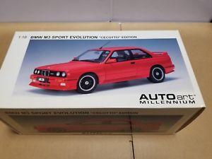 【送料無料】模型車 スポーツカー スポーツエボリューションautoart bmw m3 sport evolution cecotto edition 70566 118