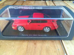【送料無料】模型車 スポーツカー ポルシェ911 964カレラrsスパーク1 43オーダーporsche 911 964 carrera rs spark 1 43 red special order good number