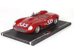 【送料無料】模型車 スポーツカー フェラーリ#ミッレミリアモデルferrari 315 535 winner mille miglia 1957 p taruffi red bbr 118 bbrc 1807 model