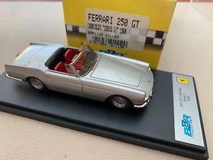 【送料無料】模型車 スポーツカー bbrフェラーリ250 gtシリーズii1968シルバー143bbr ferrari 250 gt cabriolet series ii 1968 silver 143