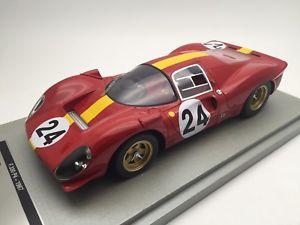 【送料無料】模型車 スポーツカー スケールフェラーリルマン118 scale tecnomodel ferrari 330 p4 le mans 24h 1967 tm1831b