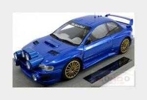 【送料無料】模型車 スポーツカー スバルimpreza s4 wrc 2ドアベース1998topmarques 118 top040aw msubaru impreza s4 wrc 2door base rally 1998 blue met topmarques 118 t