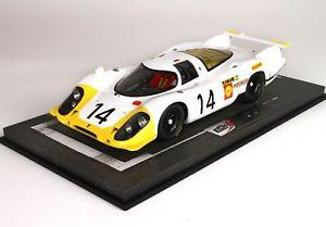 【送料無料】模型車 スポーツカー ポルシェシステム#ルマンモデルporsche 917 system engineering 14 24h le mans 1969 bbr 118 bbrc1833c model