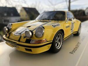 【送料無料】模型車 スポーツカー ルマン197241バースカイザーgtクラススパーク118ポルシェ911 st 25クーペporsche 911 st 25 coupe le mans 1972 41 barth keyser gt class win spark 118