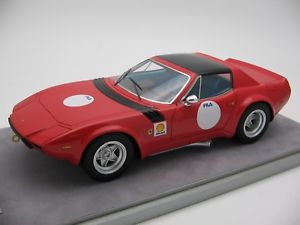 【送料無料】模型車 スポーツカー 118tecnomodelフェラーリ365 gtb41975tm1894b118 scale tecnomodel ferrari 365 gtb4 press red 1975tm1894b