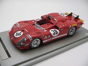 alfa romeo スケールアルファロメオロングテールルマン118 tail long 24h スポーツカー mans le 1970tm1827d 333 scale 【送料無料】模型車 tecnomodel