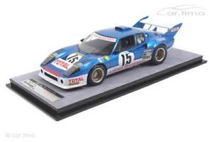 【送料無料】模型車 スポーツカー ルマンラフィligier js2 24h le mans 1974laffiteserpaggitecnomodel 118 tm1899a