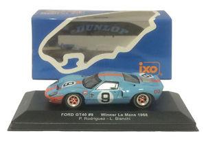 【送料無料】模型車 スポーツカー ネットワークフォード#ルマンロドリゲスビアンキスケールixo lm1968 ford gt40 9 winner le mans 1968 rodriguezbianchi 143 scale