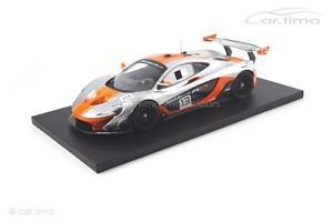 【送料無料】模型車 スポーツカー マクラーレンシルバーオレンジモデルmclaren p1gtr silverorangetsm model 118 tsm181006