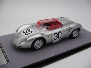 【送料無料】模型車 スポーツカー スケールポルシェルマン118 scale tecnomodel porsche 718 syx le mans 1958tm1882b