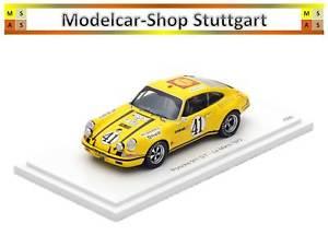 【送料無料】模型車 スポーツカー ポルシェルマンスパークワックスporsche 911 st 25 le mans 1972 dition limite 500 spark 118 wax02100035