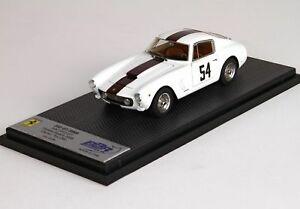 【送料無料】模型車 スポーツカー フェラーリクーペブルビーチオットーモデルferrari 250 swb coupe 1961 pebble beach 2008 tex otto bbr 143 car15c1 model