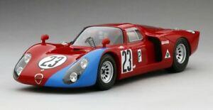 【送料無料】模型車 スポーツカー アルファロメオデイトナスケールalfa romeo tipo 332 autodelta andretti daytona 1968 true scale 118 tsm151805r