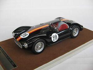 【送料無料】模型車 スポーツカー スケールマセラティマセラティルマン#118 scale tecnomodel maserati a6 gcs le mans 24h 1954 car 28 tm1844a