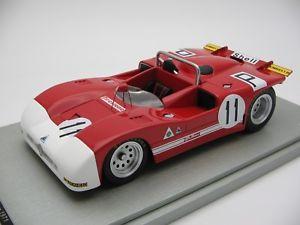 【送料無料】模型車 スポーツカー スケールアルファロメオニュルブルクリンクキロ118 scale tecnomodel alfa romeo t333 nurburgring 1000 km 1971tm1850b