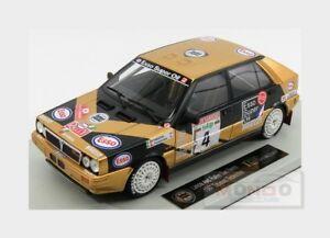 【送料無料】模型車 スポーツカー ランチアデルタエッソ#ラリーサンレモトップlancia delta hf 4wd esso 4 rally sanremo 1987 tabaton topmarques 118 top024f m