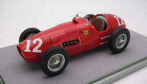 【送料無料】模型車 スポーツカー フェラーリ#モンツァモデルferrari 500 f2 12 winner monza gp 1952 a ascari 118 model tecnomodel