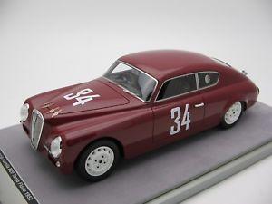 【送料無料】模型車 スポーツカー スケールランチアアウレリアレースタルガフローリオ118 scale tecnomodel lancia aurelia b20 race targa florio 1952 tm1869e