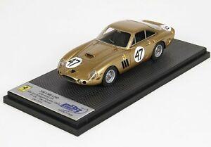 【送料無料】模型車 スポーツカー フェラーリ330lmb lhd sn 4453500kmブリッジハンプトン1963ダンbbr 143 car57bferrari 330 lmb lhd sn 4453 500 km bridge hampton 1963 dan gurney