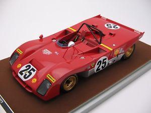 【送料無料】模型車 スポーツカー スケールフェラーリセブリング118 scale tecnomodel ferrari 312pb sebring 12h 1971 tm1861d