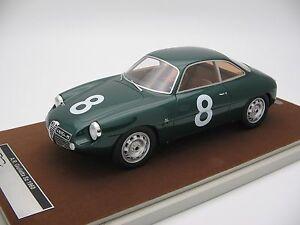 【送料無料】模型車 スポーツカー スケールアルファロメオタルガフロリオ118 scale tecnomodel alfa romeo giulietta sz targa florio 1960tm1842c