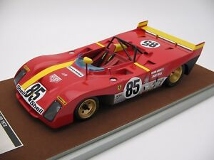 【送料無料】模型車 スポーツカー 118tecnomodelフェラーリ312pbワトキンズグレン1972 tm1862a118 scale tecnomodel ferrari 312pb watkins glen 1972 tm1862a