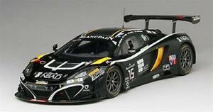 【送料無料】模型車 スポーツカー マクラーレングアテマラ#レーススパスケールmclaren 12c gt3 15 boutsen ginion racing spa 2014 true scale 118 tsm151812r mo
