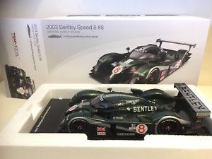 【送料無料】模型車 スポーツカー tsm models118 resin model tm1801g sebring 12hr  bentley speed 8tsm models bentley speed 8 sebring 12hr 118 resin mode