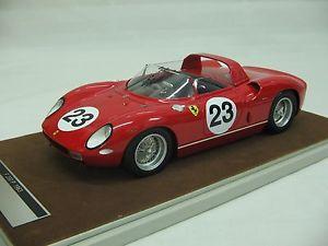 【送料無料】模型車 スポーツカー 118tecnomodelフェラーリ250pルマン24h23tm18391963c118 scale tecnomodel ferrari 250p le mans 24h 1963 23tm1839c