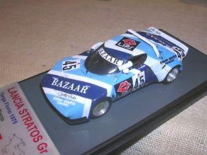 【送料無料】模型車 スポーツカー ランチアフロリオシェーンアリーナlancia stratos gr4 bazaartarga florio 1975 schonplantarena 143 true