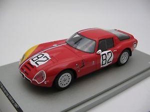 【送料無料】模型車 スポーツカー 1000km 1967カー82nurburgring118tecnomodelアルファロメオtz2 tm1865d118 scale tecnomodel alfa romeo tz2 nurburgring 1000 km 1967 car