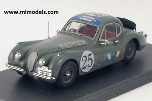 【送料無料】模型車 スポーツカー ニューlistingjaguar xk120ヘッドクーペ1953カレラpanamericana25 143whandbuilt listingjaguar xk120 fixed head coupe 1953 carrera panameri
