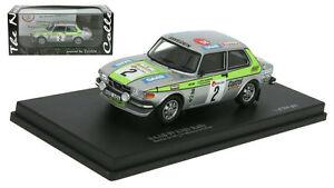 【送料無料】模型車 スポーツカー サーブラリーデスパスケールtrofeu saab 99 ems rally winner boucles de spa 1976 stig blomqvist 143 scale