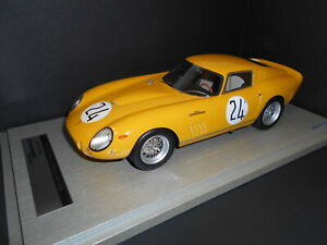 【送料無料】模型車 スポーツカー tmd1885b tecnomodelフェラーリ275 gtbc2424hlm 1965イエロー118tmd1885b tecnomodel ferrari 275 gtbc competition 24 24h lm 1965 yellow