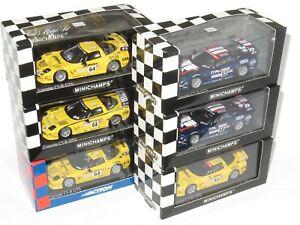 【送料無料】模型車 スポーツカー コルベットルマンx6 assorted 143 corvette c5r le mans 24 hours 2001 2002 2003 2004