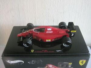 【送料無料】模型車 スポーツカー ホットホイールフェラーリマンセルグランプリブラジル×hot wheels 143 ferrari f190 n mansell gp brazil 1990 x5518