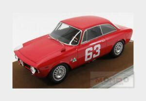 【送料無料】模型車 スポーツカー アルファロメオジュリア#モンツァドalfa romeo giulia 1600 gta 63 monza 1966 de adamich tecnomodel 118 tm1860c mo