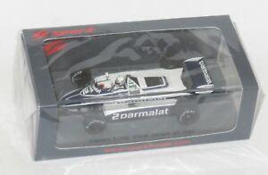 【送料無料】模型車 スポーツカー ブラバムモナコグランプリリカルドパトレーゼ143 parmalat brabham bt49d monaco gp winner 1982 riccardo patrese