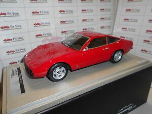 【送料無料】模型車 スポーツカー フェラーリコルサtm1892a by tecnomodel ferrari 365 gt44 red corsa 1971 118