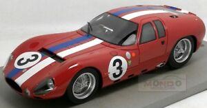【送料無料】模型車 スポーツカー マセラッティ15133 12hランス1963tecnomodel 118 tm1838eモデルmaserati 1513 3 12h reims 1963 tecnomodel 118 tm1838e model