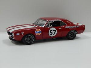 【送料無料】模型車 スポーツカー シボレーカマロハインリッヒ#118 1967 chevrolet camaro heinrich chevyland 57 gmp 18843