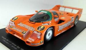 【送料無料】模型車 スポーツカー スパークスケールポルシェ#スパspark 118 scale resin 18s090 porsche 962 17 winner spa 1986 jagermeister