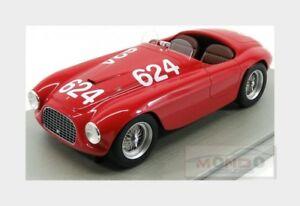 【送料無料】模型車 スポーツカー フェラーリクモ#ミッレミリアferrari 166mm 20l spider 624 winner mille miglia 1949 tecnomodel 118 tm1852d
