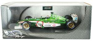 【送料無料】模型車 スポーツカー エディーアーバインジャガーホットホイールスケールモデルカーeddie irvine jaguar r3 2002 hot wheels 118th f1 scale model car