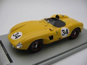 【送料無料】模型車 スポーツカー スケールフェラーリナッソー118 scale tecnomodel ferrari 625lm nassau 1956 tm1854c
