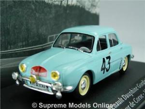 【送料無料】模型車 スポーツカー renault dauphine gordini car model 1431959ixo atlas la saga rally tour t3renault dauphine gordini car model 143 1959 ixo a